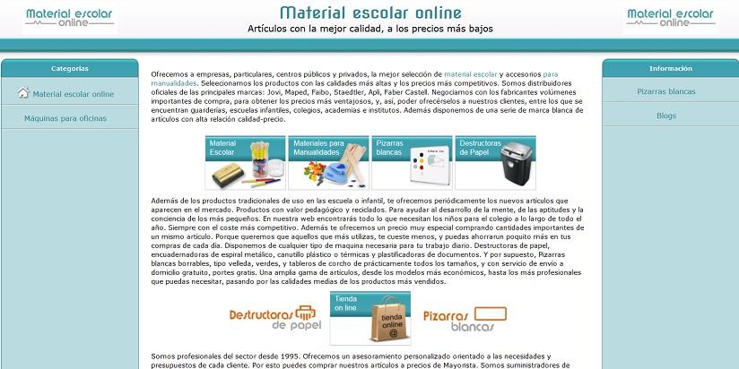 material-escolar-online